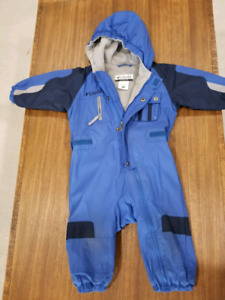 Various jackets/snowsuits/rainsuits sizes 18m to 2 years
