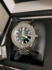 Rado Captain Cook automatic Swiss divers watch new box papers