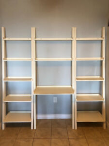 EQ3 Asterik Ladder Shelving & Desk Unit