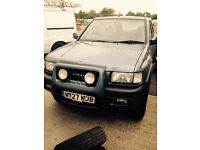 Vauxhall frontera 4x4 for sale