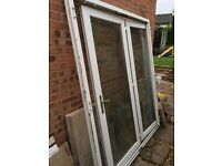 White UPVC Patio / French Doors
