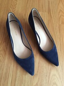 Nine West Heels Size 7 suede leather