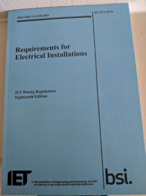 Requirements for Electrical Installation 18th Edition