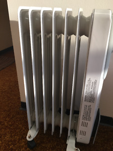 FC oil filled heater (1500 W) in brand new condition
