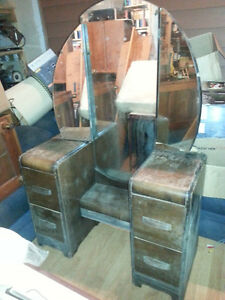 Antique Mirrored Dresser