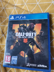 Call on duty Black ops 4 PS4