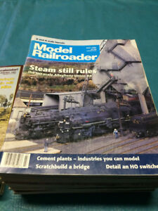 Model Train magazines