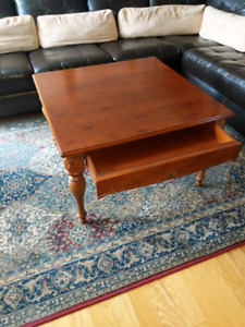 *Bombay Wood Coffee Table*