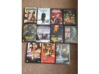 Job lot of dvd's