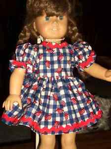 doll clothes  BEAUTIFUL  18 IN.DOLL DRESS Windsor Region Ontario image 1