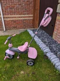 Pink Push along / Bike