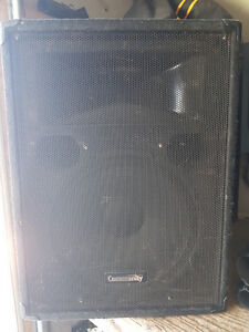 "Community 15""+ 2"" horn XLT-43 speakers"