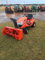 KUBOTA LAWN TRACTOR WITH SNOW BLOWER Moncton New Brunswick Preview