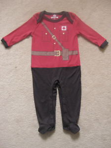 Canadian Mounted Police Baby Sleeper