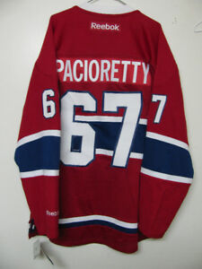 OFFICIAL MONTREAL CANADIENS JERSEY PACIORETTY NWT+FREE PRICE JER