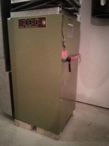 Fournaise électrique 20 kw 240 v avec thermostat électronique