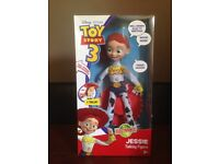 Toy story talking Jessie figure with box