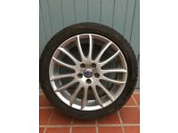Volvo Spartacus alloy wheel and Pirelli tyre for sale