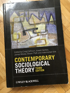 Contemporary Sociological Theory (3rd Edition)