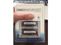 4GB (2x2GB) RAM Memory