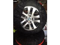Bmw winter Tyers with allows