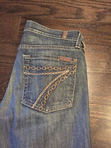 7 of Mankind Jeans for Sale! Size 27