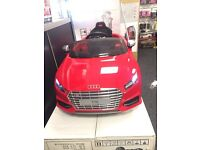 Audi TT 12v Ride On Car Parental Remote Control Available In Red