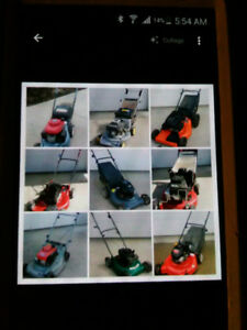 Serviced lawnmowers/Trade ins welcomed