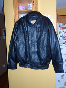 Black Leather Jacket- The Hide Company