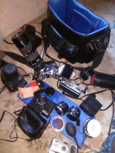 cameras Lenses and accessories