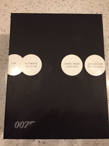 007 James Bond Ultimate Collection Blu-Ray Box Set BluRay
