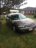 2004 impala no rust and low miles