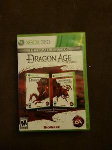 Dragon Age Origins ultimate edition xbox 360 mint
