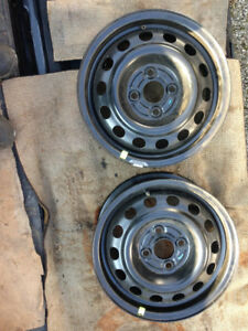 Complete Set of 4 Honda Rims