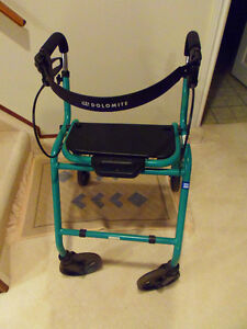 Dolomite Folding Walker Solid Good Clean Condition!