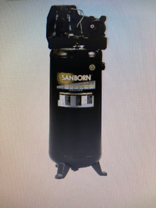 FOR SALE    60 Gallon Oil Lubricated Belt Drive Air Compressor
