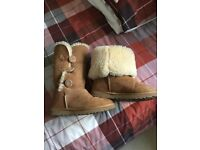 Authentic ugg long Bailey boots. Size 5 uk. Good. Clean condition