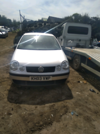 VW polo breaking for parts