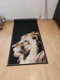 Lion carpet rug