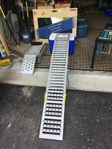 Larin FSR-2SL two way load or lift steel ramps