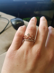 Charmed aroma CROWN ring