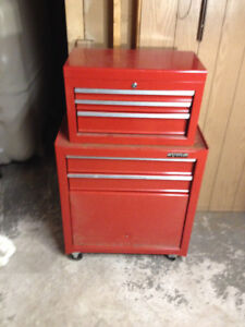 Waterloo 5 drawer with storage compartment tool chest