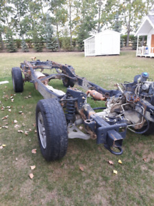 2005 Ford F150 Supercrew Rolling Chassis