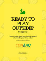 Ready to play outside? Ask for our Total Home Solutions Program