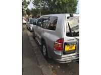 Mitsubishi Pajero diesel automatic and manual.. £2650