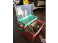 Mothercare baby box & changing mat
