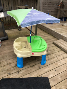Step two water table