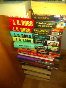 24 J.D. Robb In Death books