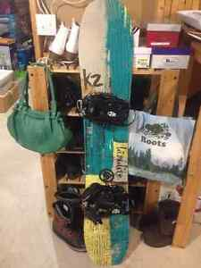 K2 highlite snowboard for sale - brand new condition size 148 Kitchener / Waterloo Kitchener Area image 1