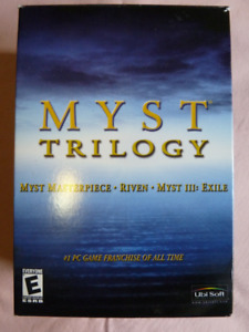 Myst Trilogy Collectable PC Game